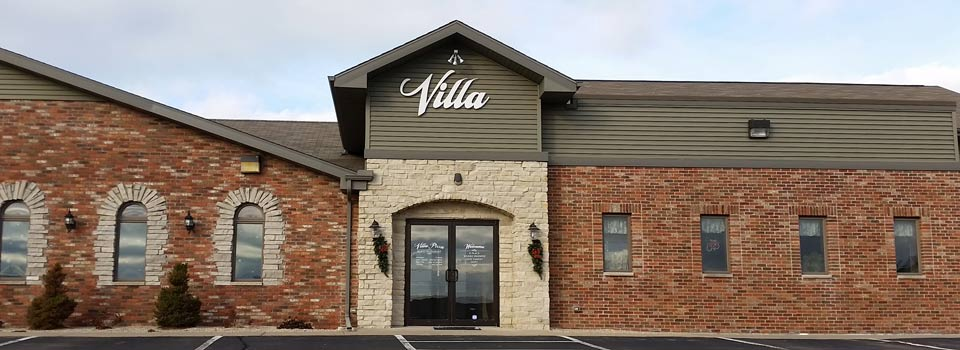 Villa Pizza Slider Image